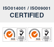 ISO014001/ISO09001 CERTIFIED